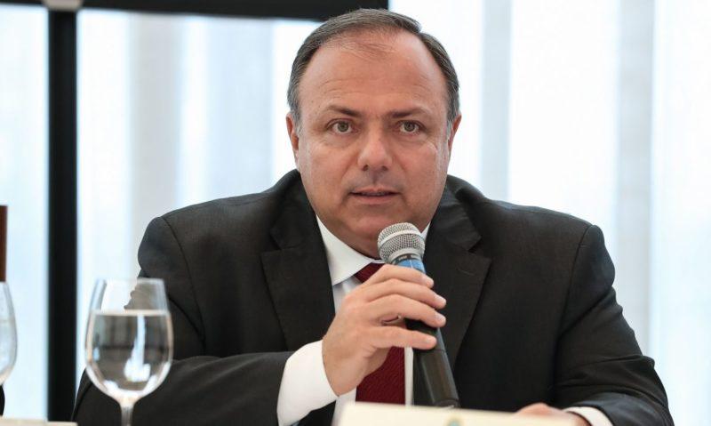 Ministro da Saúde, Eduardo Pazuello, promete vacina para todos em 2021 – Foto: Marcos Corrêa/PR/ND