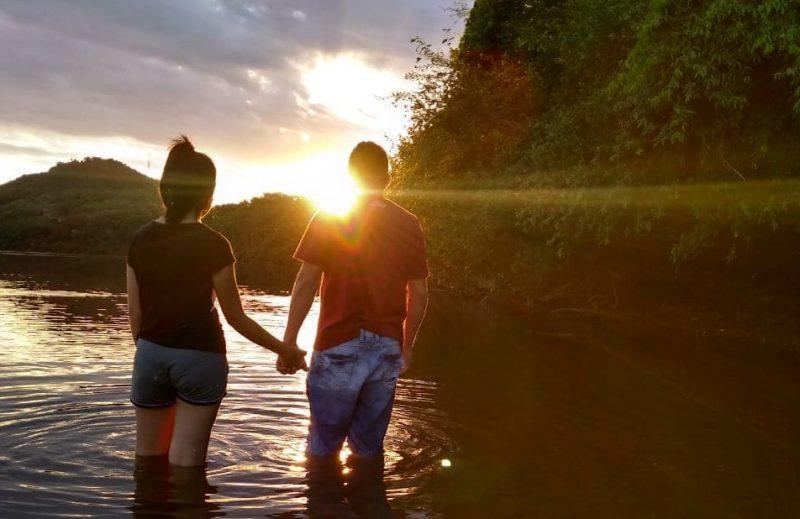 O rio era um dos lugares favoritos de lazer para Alan. – Foto: Arquivo Pessoal