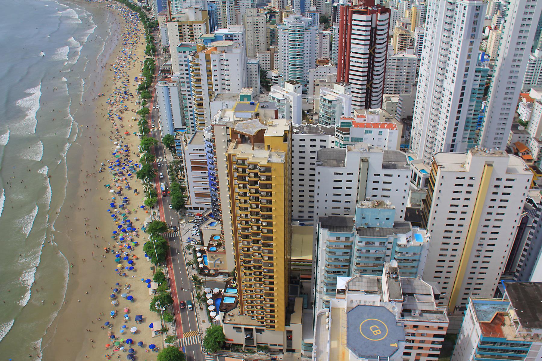 Praia Central – Foto: Celso Peixoto | Prefeitura Municipal de Balneário Camboriú/Divulgação