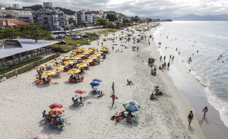 Praia de Canasvieiras – Foto: Anderson Coelho/Arquivo/ND