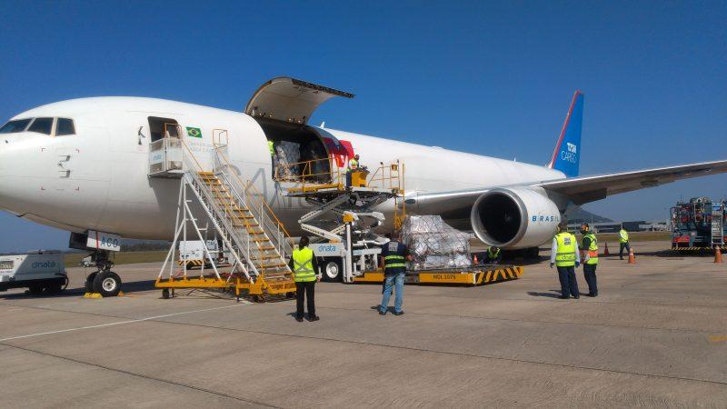 Floripa Airport Cargo está apto para receber importação de vacinas contra o coronavírus – Foto: Floripa Airport/Divulgação