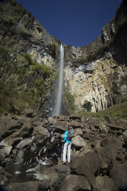Cascata do Avencal, em Urubici – Foto: iStock/Divulgação