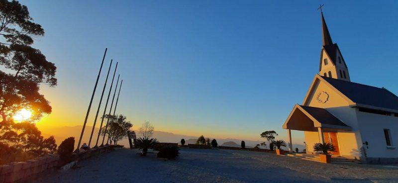 Chiesetta Alpina, em Jaraguá do Sul. – Foto: Rozenir de Azevedo Deon/Chiesetta Alpina/Divulgação
