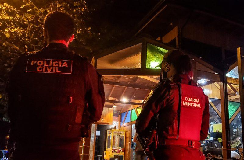Fiscalizações ocorrem à noite de quinta-feira a domingo – Foto: Prefeitura de Itajaí/Divulgação