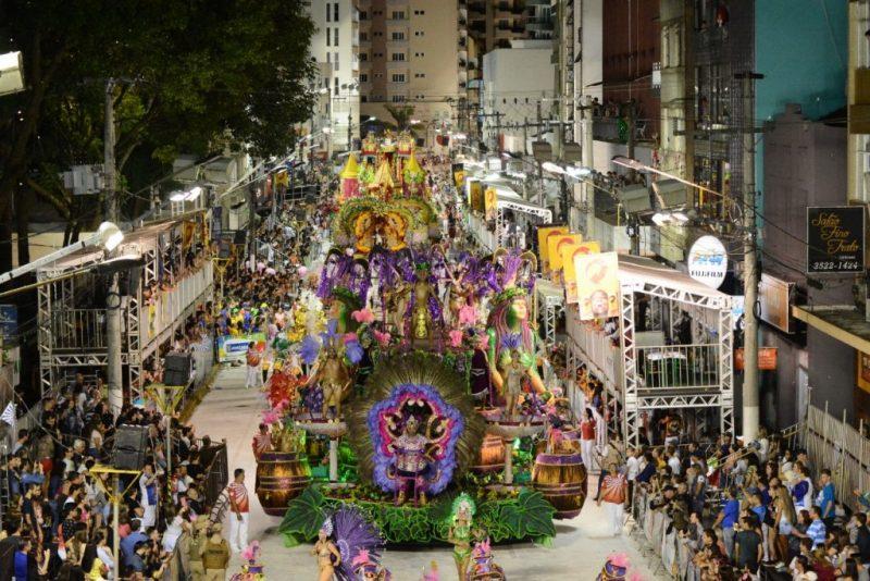 Tradicional desfile das escolas de samba está cancelado em Joaçaba. – Foto: Liesjho/Divulgação