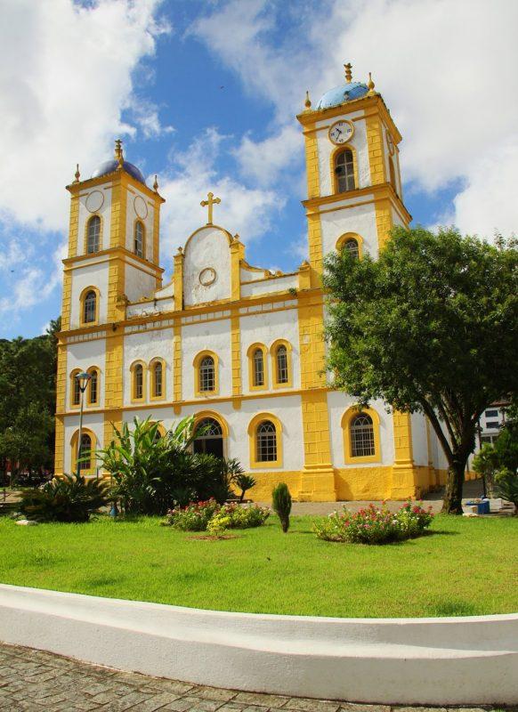 Igreja Nossa Senhora da Graça – Foto: Alexandre Braga   Prefeitura Municipal de São Francisco do Sul/Divulgação