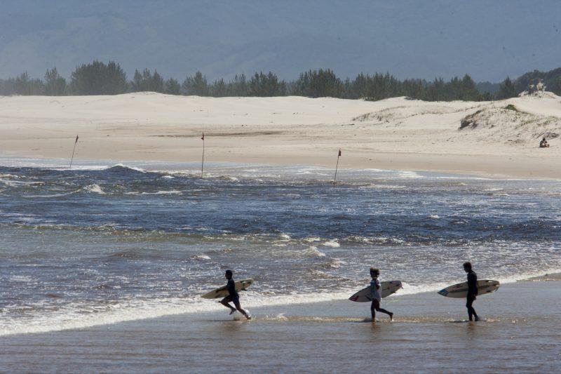 Guarda do Embaú, Reserva Mundial de Surf, está localizada na cidade de Palhoça – Foto: Flávio Tin/Arquivo ND