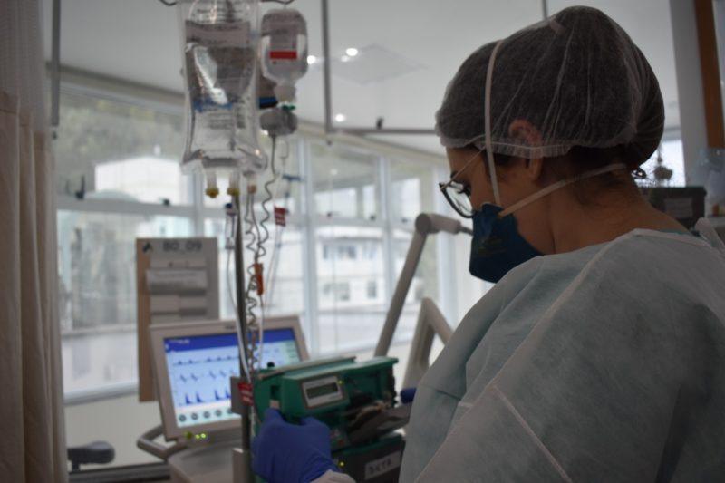 """""""Estamos muito perto do colapso"""", diz secretário de Saúde de Blumenau – Foto: Larissa Machado/HSA/Divulgação"""