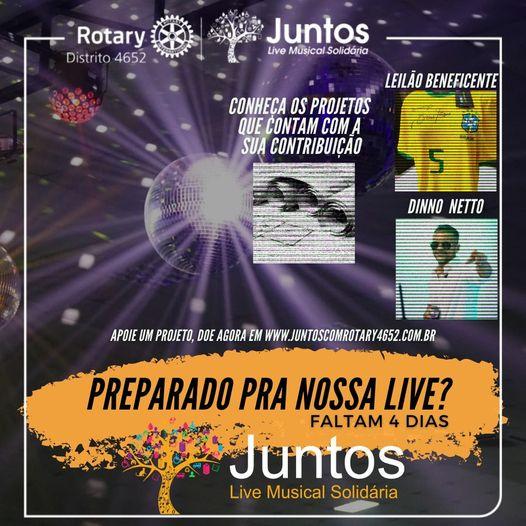 Rotarianos em contagem regressiva para a promoção on-line de sábado – Foto: Divulgação/ND