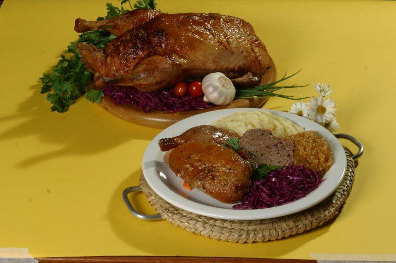 Marreco, prato tradicional da cidade – Foto: Eraldo Schnaider | Prefeitura Municipal de Blumenau/Divulgação