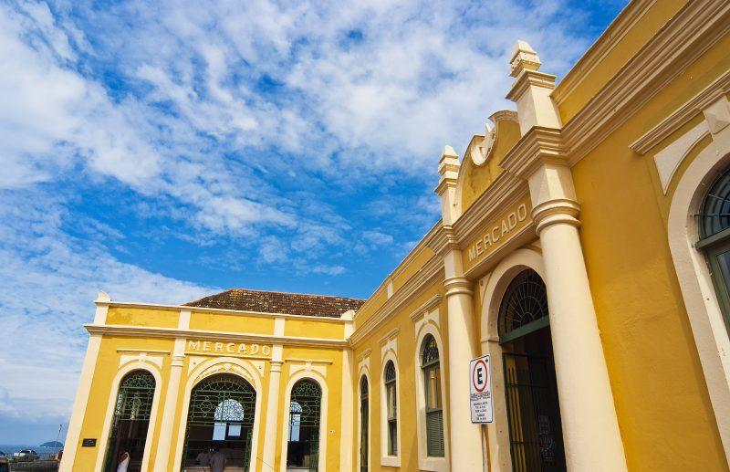 Mercado Público Municipal de São Francisco do Sul – Foto: Mercado Público Municipal
