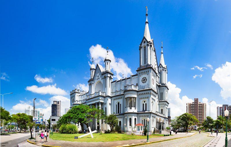 Igreja Matriz do Santíssimo Sacramento, em Itajaí – Foto: iStock/Divulgação