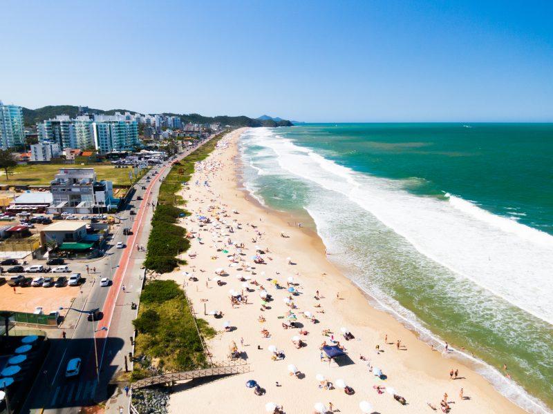 Praia Brava, em Itajaí – Foto: Heitor Pergher
