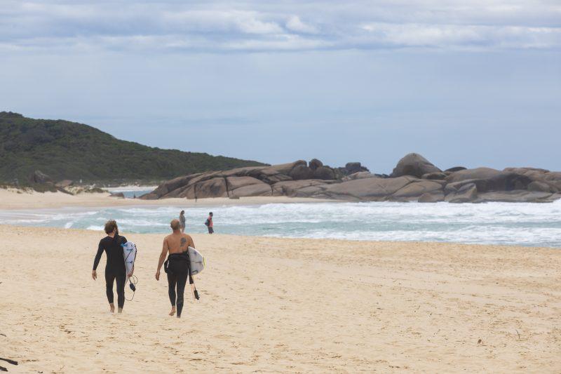 Praia Mole, em Florianópolis – Foto: Marcos Campos