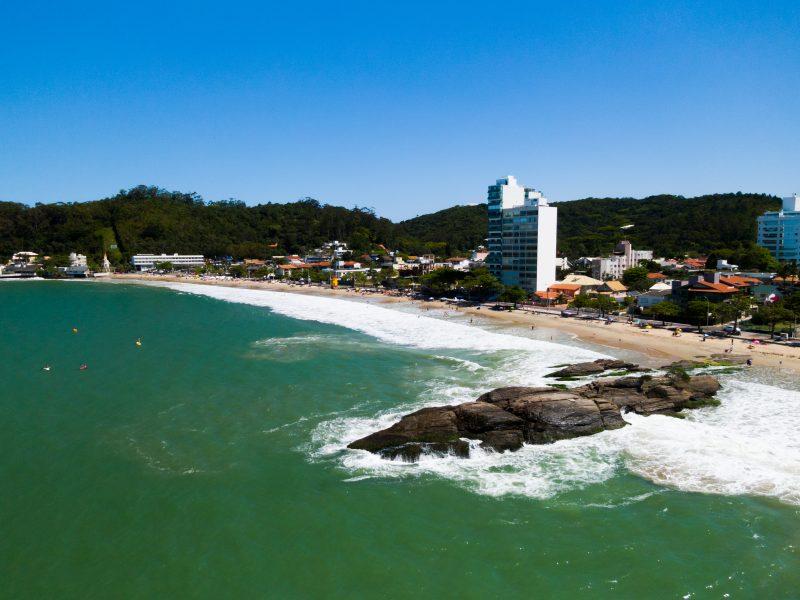 Praia de Cabeçudas, em Itajaí – Foto: Heitor Pergher