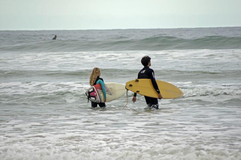 Praia do Rosa, em Imbituba – Foto: iStock/Divulgação