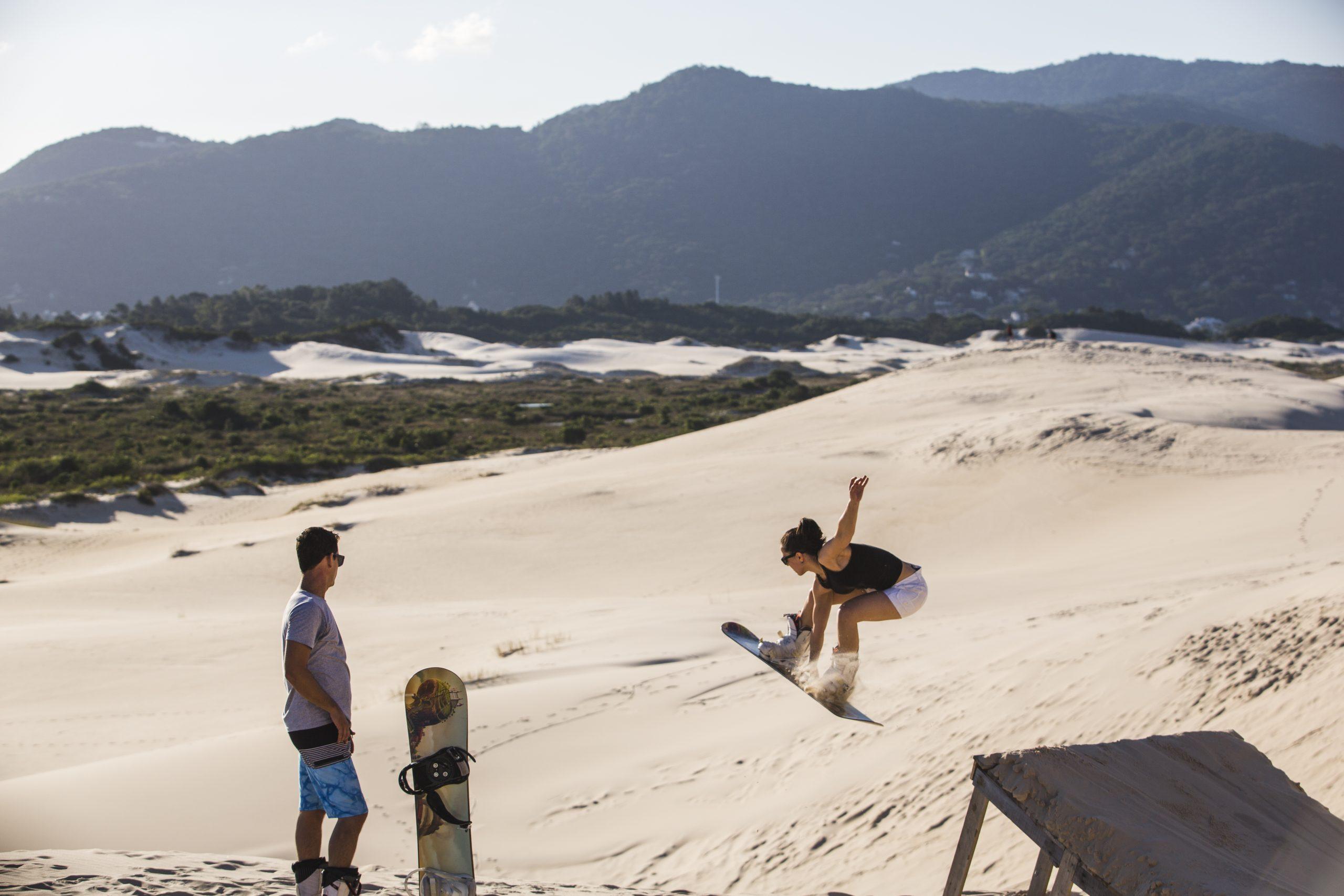 Sandboard: surf nas areias de Florianópolis | ND