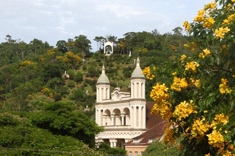 Santuário de Nossa Senhora de Caravaggio de Azambuja – Foto: Prefeitura Municipal de Brusque/Divulgação