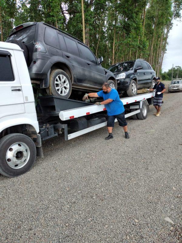 A Hyundai Tucson (a frente da TR4) pode custar cerca de R$ 32 mil, no modelo 2012 Foto: Divulgação/ND