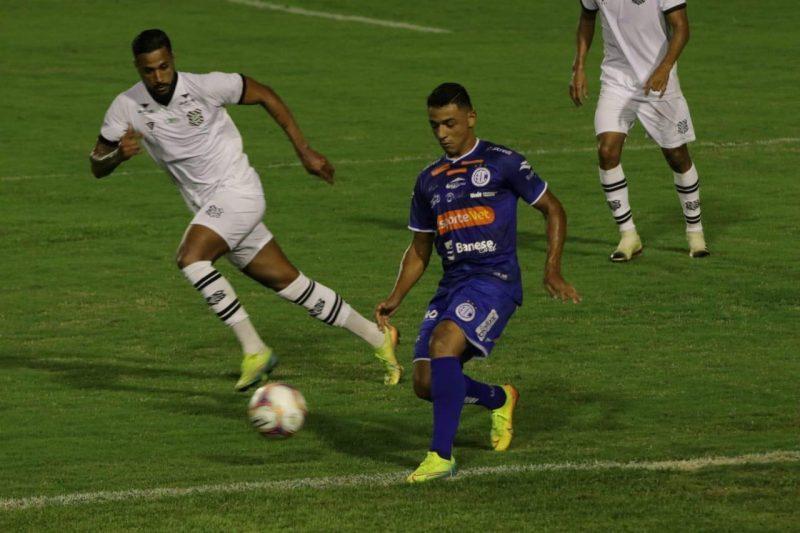 Confiança 1 a 1 Figueirense, pela Série B; ponto conquistado que dá esperança para engatar as vitórias – Foto: Emanuel Rocha/Estadão Conteúdo/ND