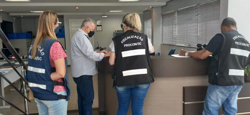 Fiscalização contou com apoio da Polícia Civil – Foto: Polícia Civil/ND