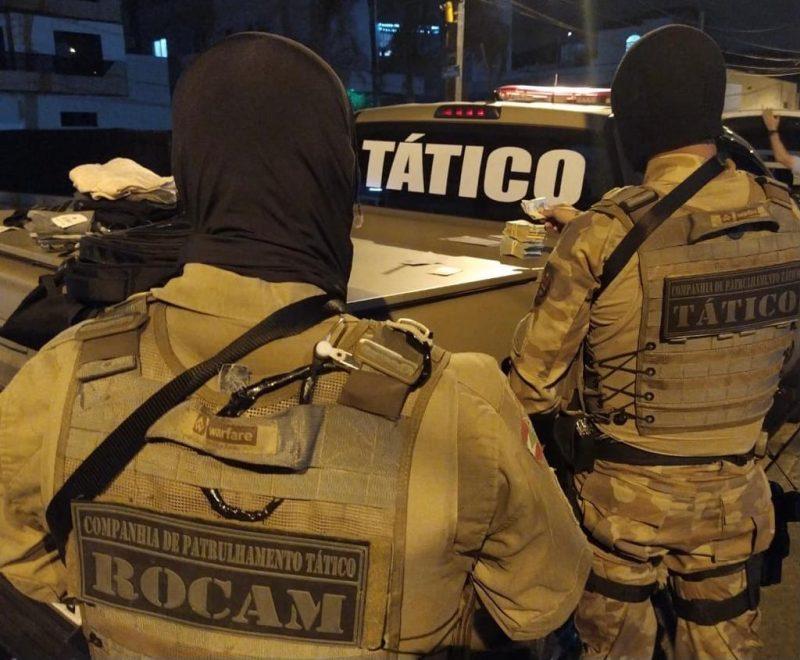 Polícia Militar de Blumenau efetuou a prisão do suspeito. – Foto: Polícia Militar/Reprodução