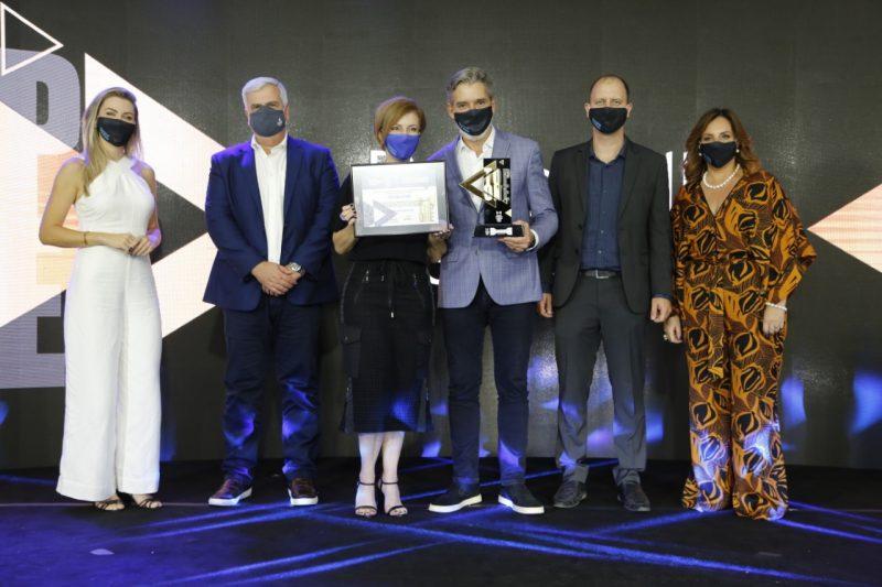 Portobello Shop recebeu o Top One 2020 – a maior premiação da noite – Foto: Anderson Coelho/ND