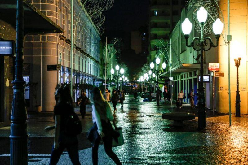 Medida do governo do Estado restringia circulação de pessoas nas ruas entre meia-noite e 5h – Foto: Anderson Coelho/Arquivo/ND