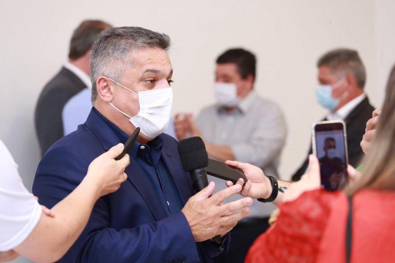João Rodrigues vai anunciar, às 10h desta sexta-feira (12), novas medidas para conter o avanço do coronavírus em Chapecó – Foto: Leandro Schmidt/Divulgação/ND