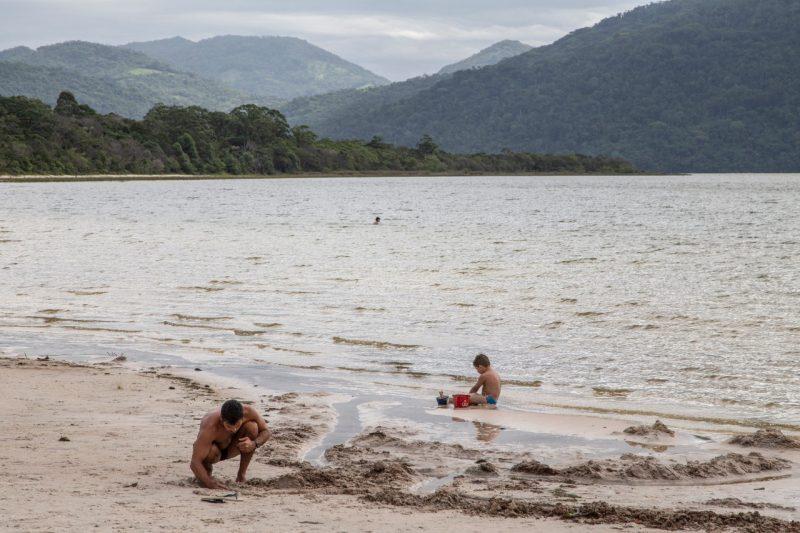 O uso de um maior volume de água do Rio Cubatão promete reduzir a dependência do Rio Pilões (Vargem do Braço), que é um manancial que sofre mais com as estiagens. – Foto: Anderson Coelho/ND