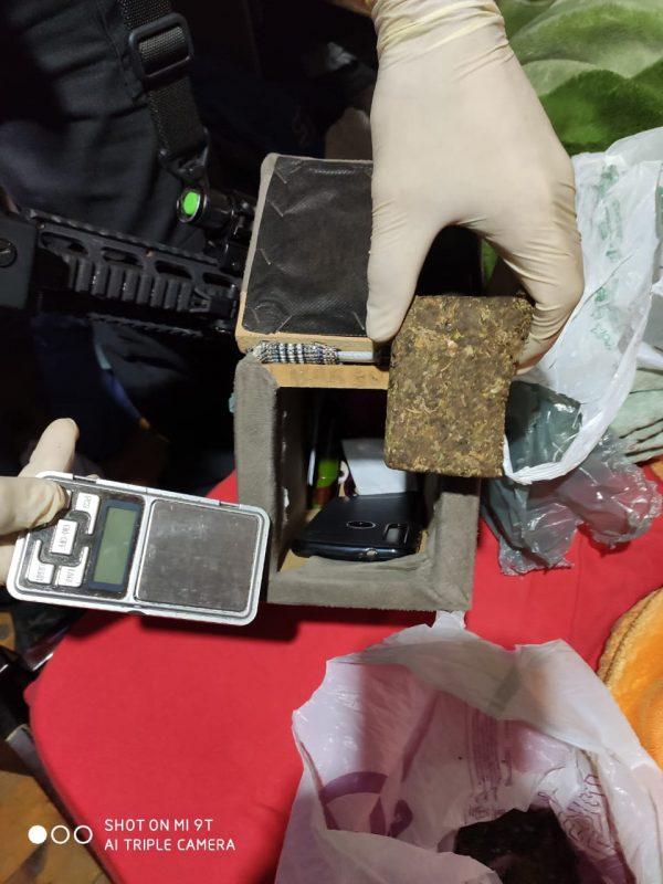 Durante a ação, drogas foram encontradas pela polícia – Foto: Polícia Civil/Divulgação
