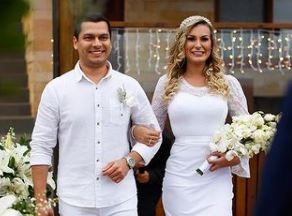 Andressa Urach se casou sem a presença de convidados – Foto: Reprodução/Instagram