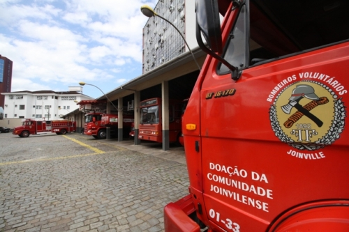 Bombeiros de Joinville foram chamados para atender a vítima – Foto: Arquivo/ND