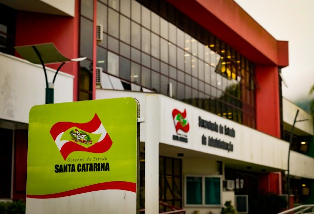 Sede do Governo de Santa Catarina, em Florianópolis- Foto: Ricardo Wolffenbuttel/Secom/ND