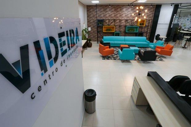 Centro de inovação traz novas perspectivas de desenvolvimento ao município de Videira. – Foto: Mauricio Vieira / Secom/Divulgação/ND