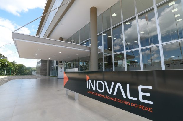 Centro de Inovação Vale do Rio do Peixe, inaugurado no dia 8 de dezembro em Joaçaba – Foto: Julio Cavalheiro/Secom/ND