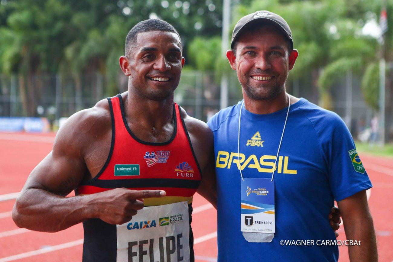 Atleta de Blumenau conquista vaga para Olimpíadas de Tóquio - Wagner Carmo / CBAt