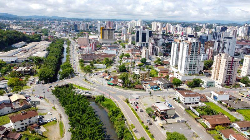 Joinville vista de cima