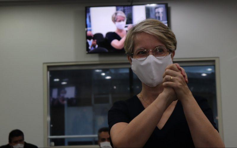 Vice prefeita eleita coordenará vacinação contra o coronavírus em Blumenau – Foto: Marcelo Martins / Prefeitura de Blumenau