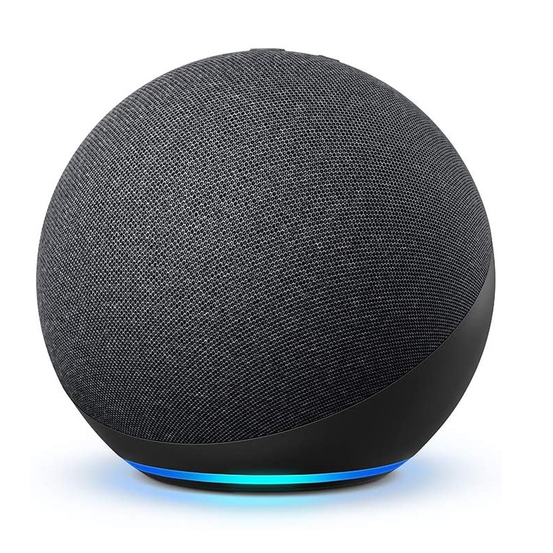 Novo Echo (4ª Geração), da Amazon. O teste completo você confere em https://bit.ly/2LpCu0Q. - Foto: Divulgação/33Giga/ND