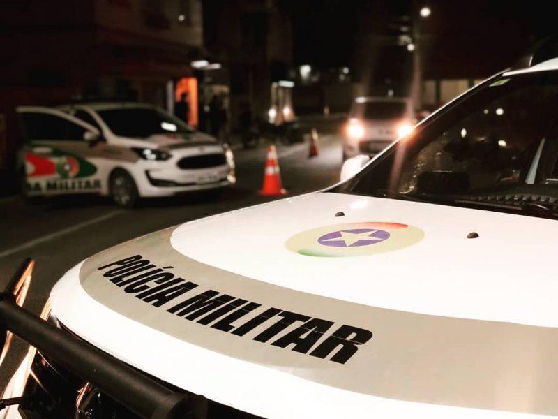 Polícia Militar atendeu ocorrência na madrugada desta quinta-feira (04) – Foto: PM/Divulgação/Arquivo
