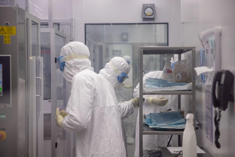SC garante a reserva 500 mil doses da vacina Coronavac. A produção do imunizante já começou – Foto: Governo de SP/Divulgação