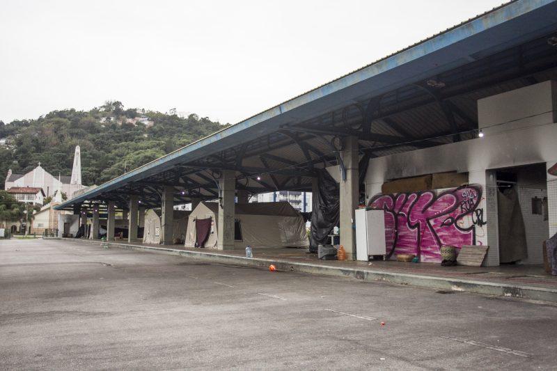 Terminal desativado do Saco dos Limões, em Florianópolis – Foto: Marco Santiago/Arquivo/ND