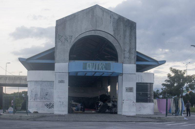 Terminal desativado do Saco dos Limões, em Florianópolis – Foto: Flavio Tin/arquivo/ND