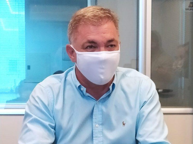 Prefeito Gean Loureiro será novamente internado neste sábado (28) – Foto: Paulo Rolemberg/ ND