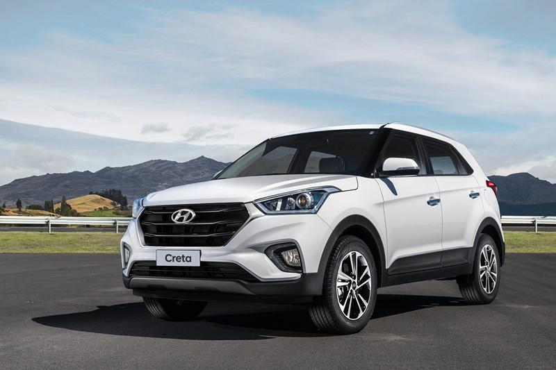 14- Hyundai Creta: 47.757 unidades - Foto: Divulgação/Hyundai/Garagem 360/ND
