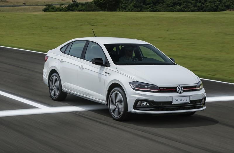 22- VW Virtus: 30.880 unidades - Foto: Divulgação/VW/Garagem 360/ND