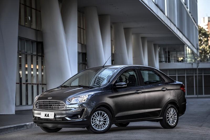 25- Ford Ka Sedan: 25.743 unidades - Foto: Divulgação/Ford/Garagem 360/ND