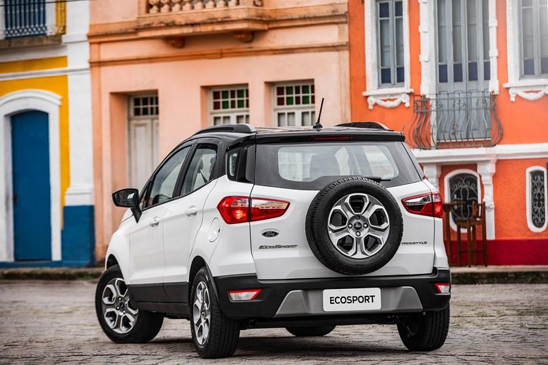 27- Ford EcoSport: 24.031 unidades - Foto: Divulgação/Garagem 360/ND