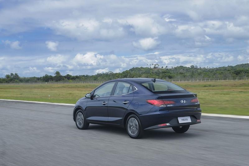 28- Hyundai HB20S: 23.984 unidades - Foto: Divulgação/Hyundai/Garagem 360/ND